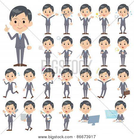 Gray Suit Businessman