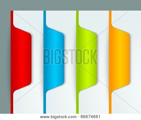 Colorful Bookmarks