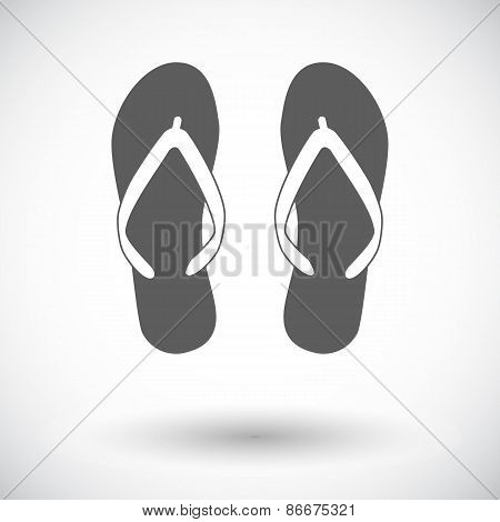 Beach slippers