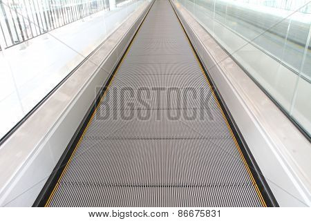 Escalators Moving way