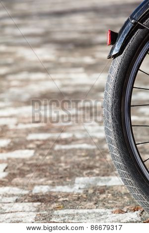 Bicycle Wheel Detail