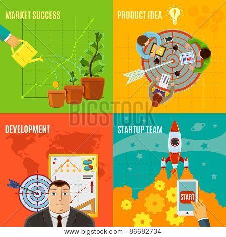 Startup Design Concept Set