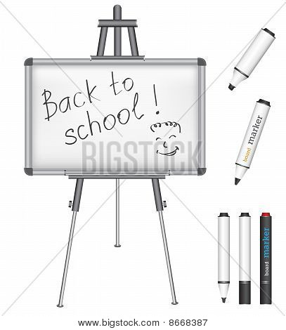 Marker Board Back To School