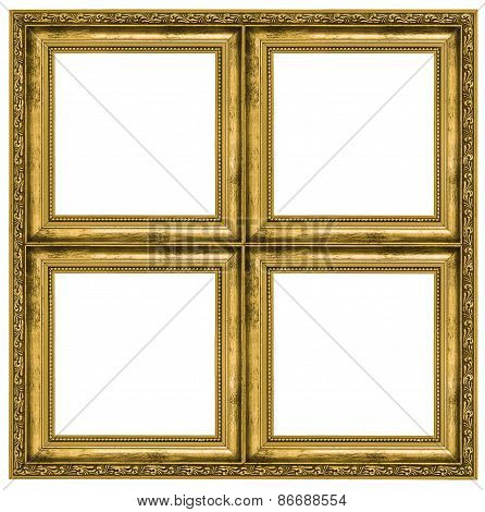 Golden Quadruple Frame