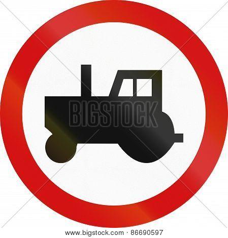 No Tractors In Poland