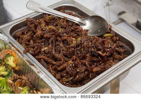 Crispy Shredded Beef