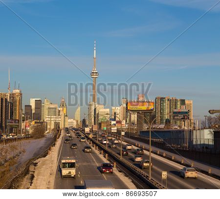 Toronto At Rush Hour