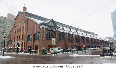 St Lawrence Market In The Winter