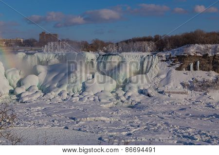 American Falls In The Winter