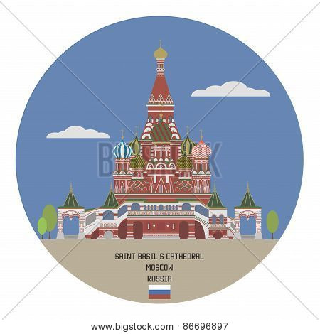 Saint Basil's Cathedral. Moscow
