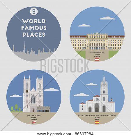 World Famous Places. Set 9
