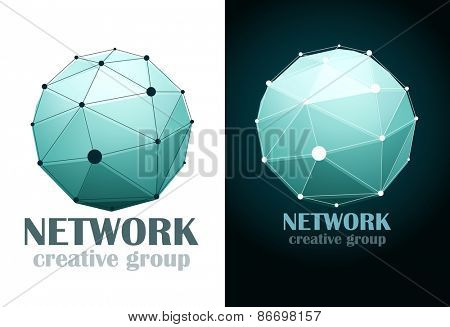 Social network Business design icon. Vector illustration