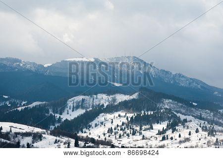 Rarau mountains