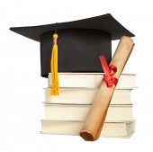 image of graduation hat  - Graduation hat - JPG