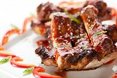 image of chinese restaurant  - Hot Meat Dishes  - JPG