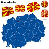 foto of macedonia  - Macedonia set - JPG