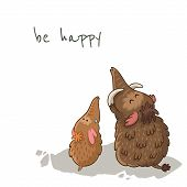 stock photo of mammoth  - Be happy - JPG