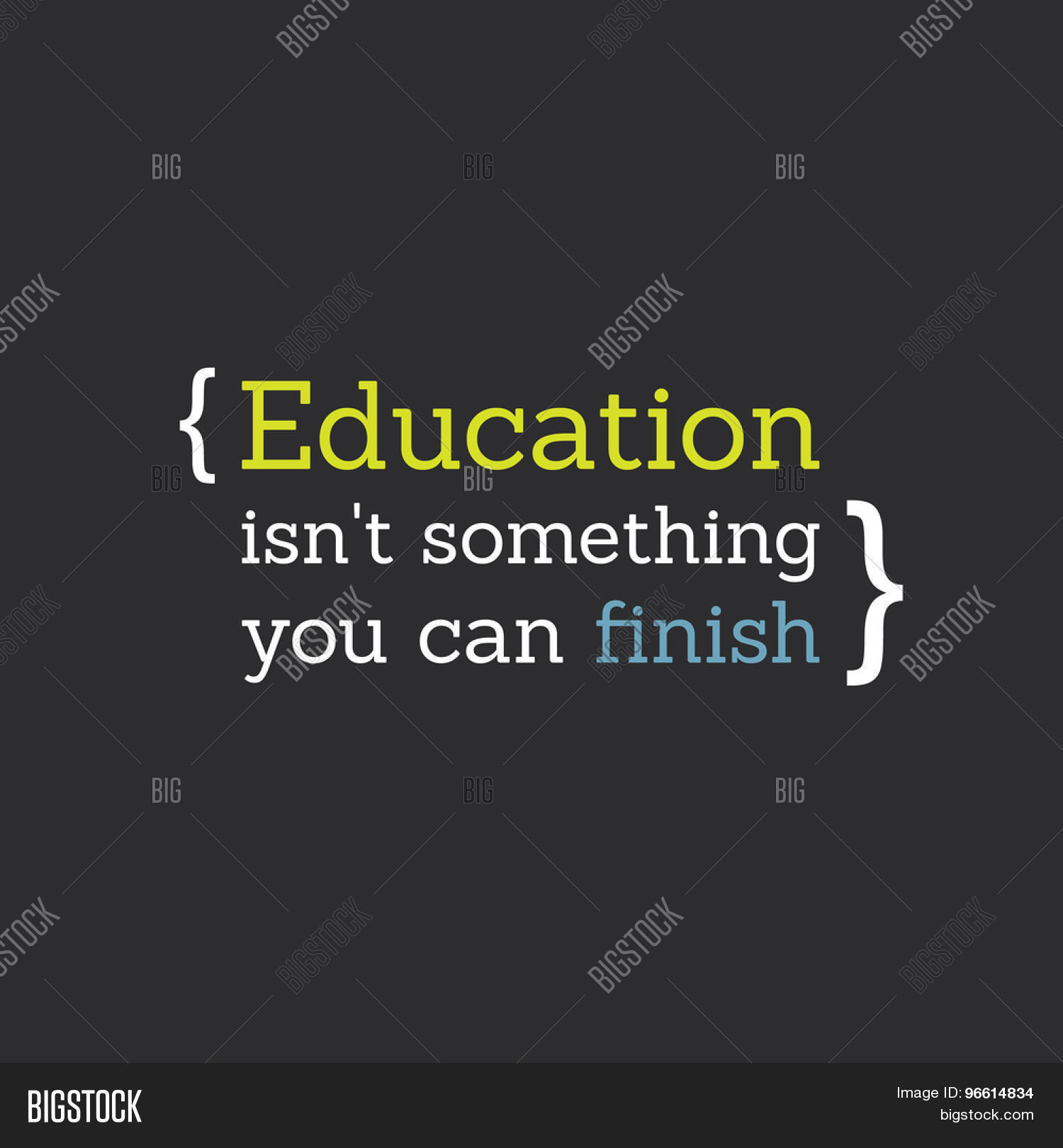 "Lifelong Learning Quotes Inspirational Quote""education Vector & Photo  Bigstock"