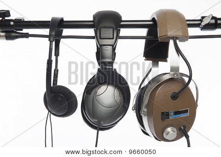 Three Headphones