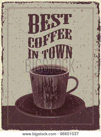 Retro-vintage Coffee Poster