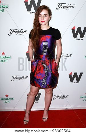 LOS ANGELES - JUN 11:  Kaitlyn Dever at the TheWrap's 2nd Annual Emmy Party at the London Hotel on June 11, 2015 in West Hollywood, CA