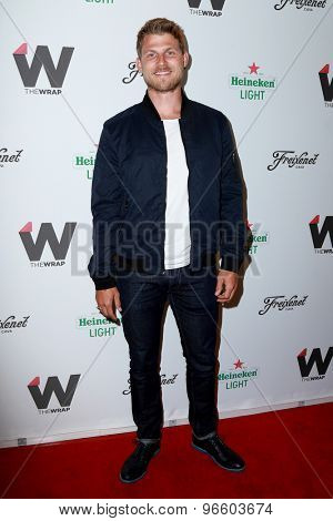 LOS ANGELES - JUN 11:  Travis Van Winkle at the TheWrap's 2nd Annual Emmy Party at the London Hotel on June 11, 2015 in West Hollywood, CA