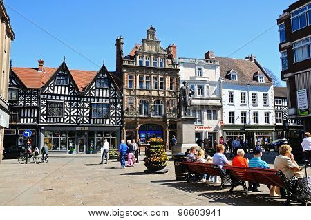 The Square, Shrewsbury.