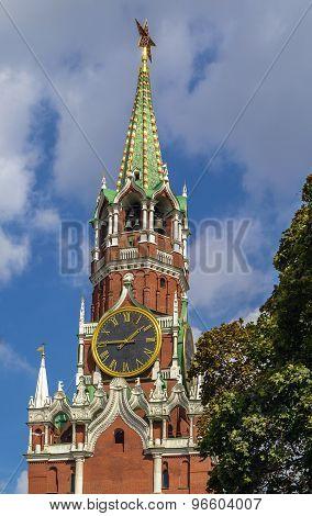 Spasskaya Tower,moscow,russia