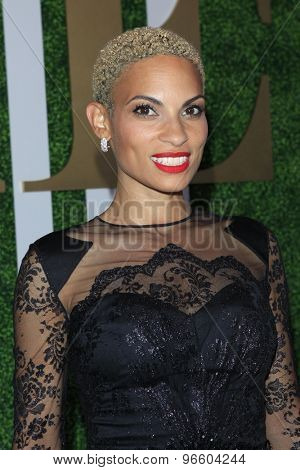 LOS ANGELES - JUN 24:  Goapele at the 2015 BET Awards Pre-Dinner at the Sunset Tower Hotel on June 24, 2015 in Los Angeles, CA