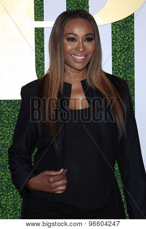 LOS ANGELES - JUN 24:  Cynthia Bailey at the 2015 BET Awards Pre-Dinner at the Sunset Tower Hotel on June 24, 2015 in Los Angeles, CA