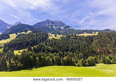 View On The Alps, Switzerland