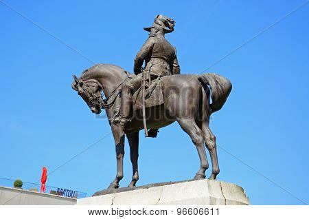 King Edward VII statue, Liverpool.
