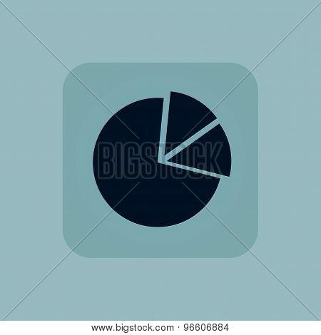 Pale blue diagram icon