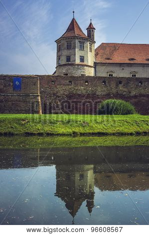 Fagaras Fortress, Fagaras City, Romania
