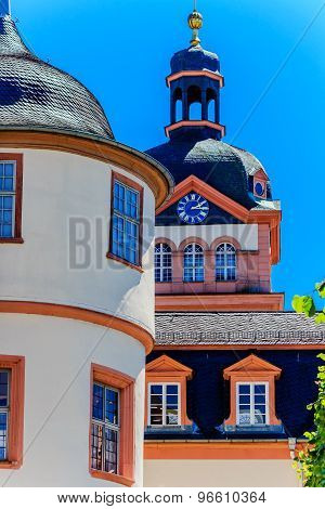 The Schloss Weilburg, former residential castle of the House of Nassau, Germany