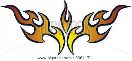Hot Rod Racing Flames