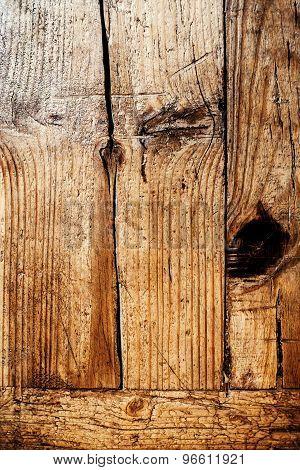 Natural Wood Texture. Dark Wooden Background. Wooden Board Floor.