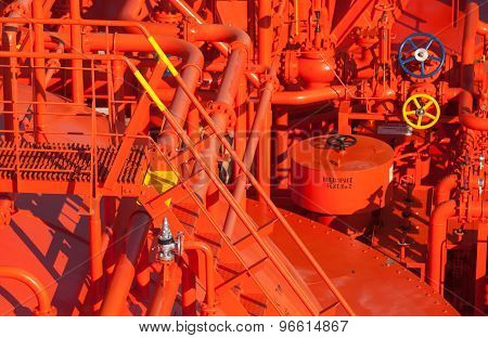 Equipment Of Liquefied Petroleum Gas Tanker