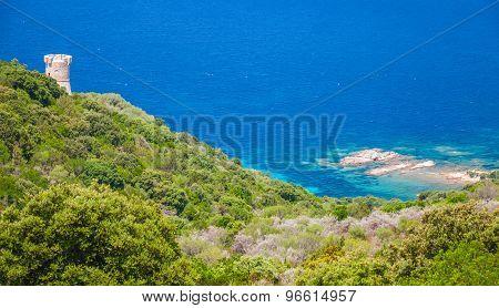 Genoese Campanella Tower, Corsica Island