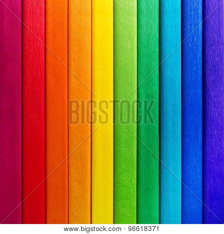 Rainbow Background Colors In Line