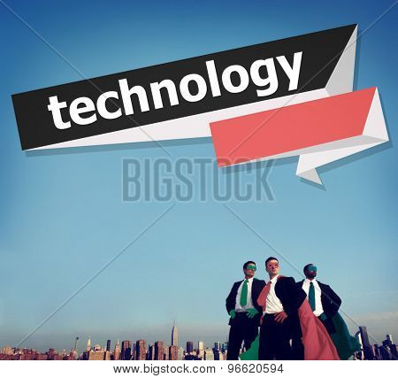 Technology Global Business Internet Comunication Concept