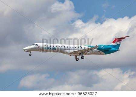 Luxair Embraer Erj-145Lu