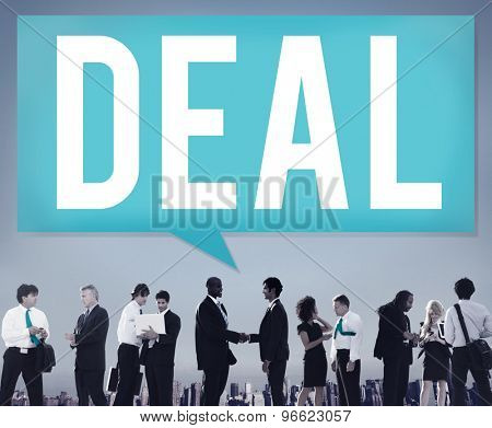Deal Achievement Cooperation Solution Collaboration Concept