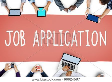 Job Application Career Hiring Employment Concept