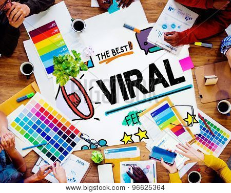 Viral Marketing Spread Review Event Feedback Concept
