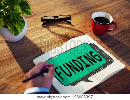 Funding Finance Fundraising Global Business Invest Concept