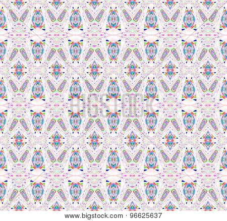 Seamless pattern red blue white
