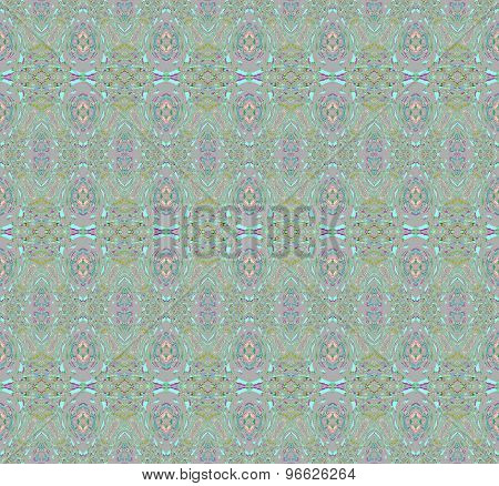 Seamless pattern green mauve