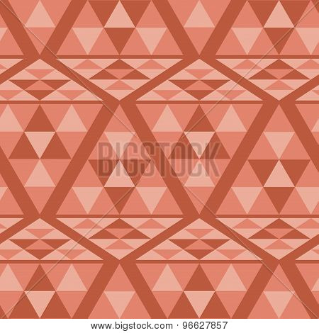 Triangle ethnic pattern