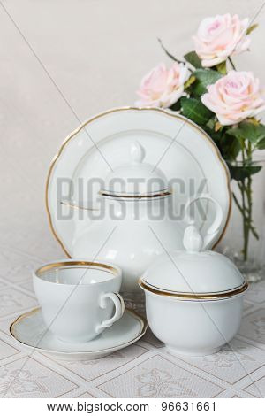 Dishes For Tea Drinking